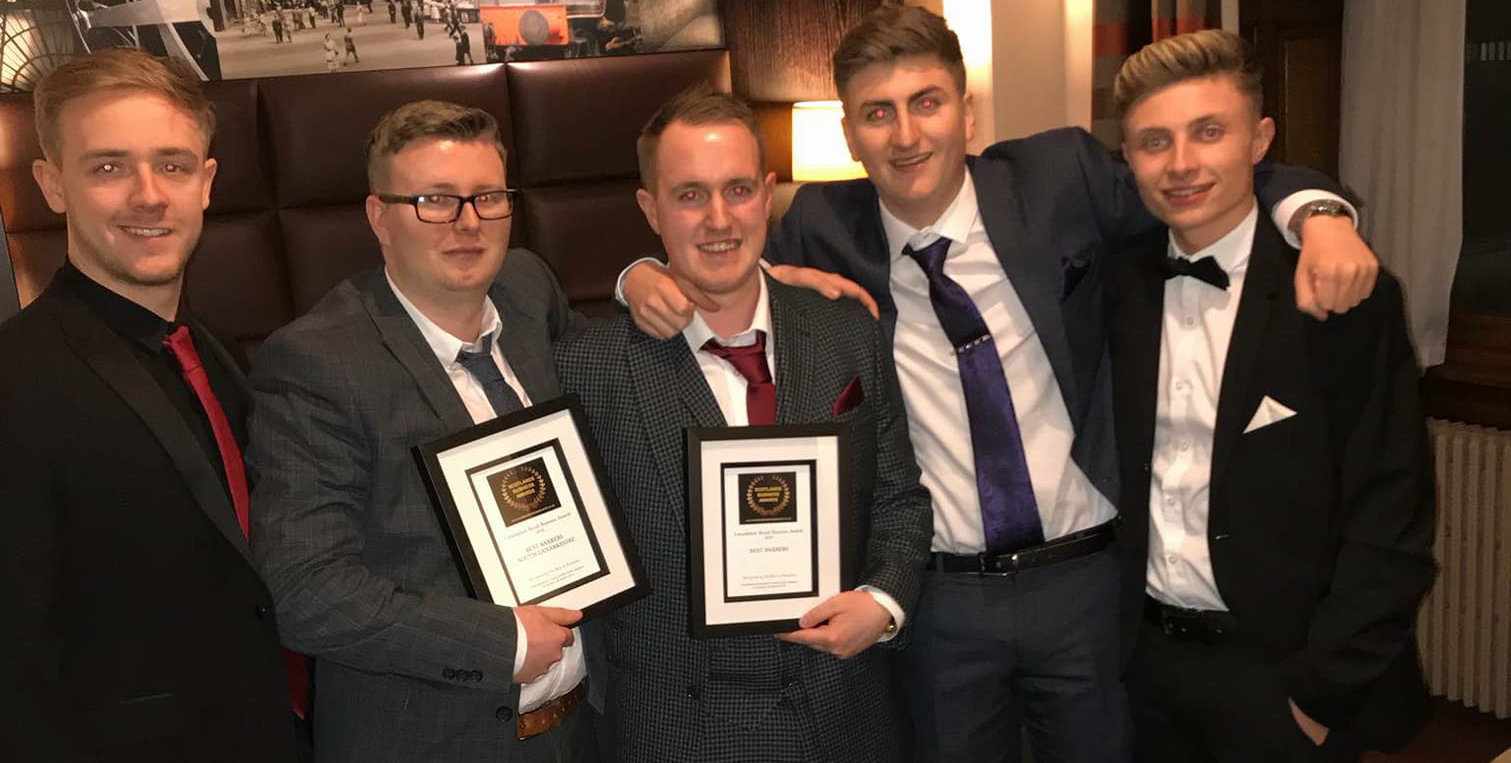 Carluke Barbers win Award